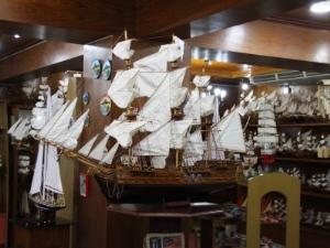 Mauritius Urlaub - Schiffsmodell