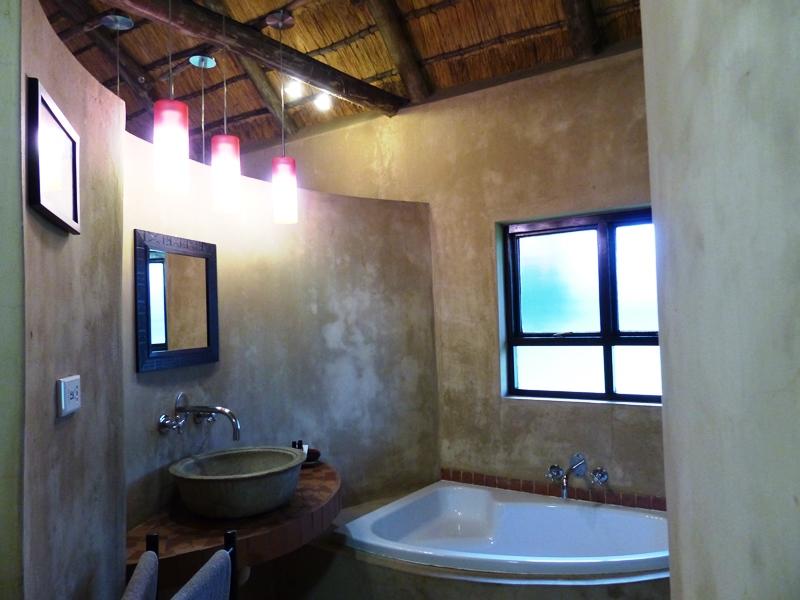 Südafrika - Badezimmer im Gästehause in St. Lucia